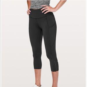 Lululemon fast & free leggings - size 4